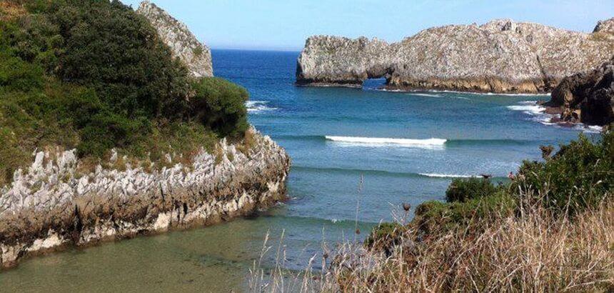 In Spanien Surfen_Kantabrien