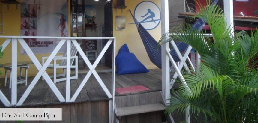 Surfcamp Pipa_schrift