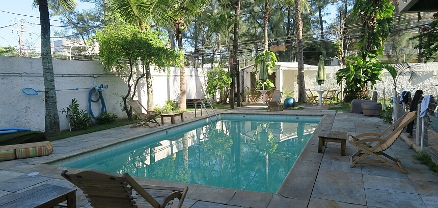 Hereda Surf Hostel_Pool