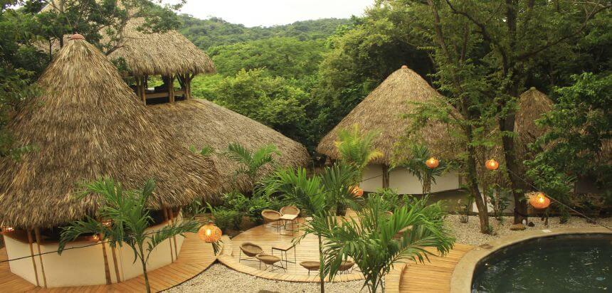 Das Dreamsea Surf Camp in San Juan del Sur liegt mitten im Regenwald