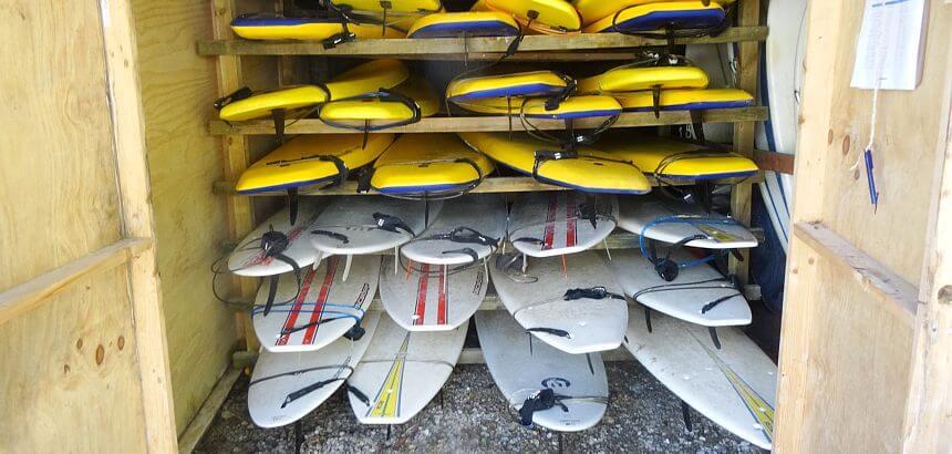 Surfboardlager