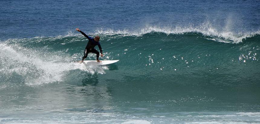 In Teneriffa surfen-1