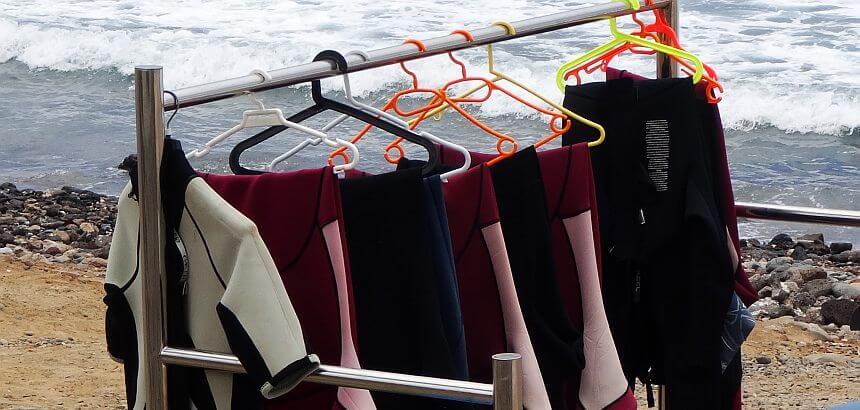 Surfanzug richtig trocknen-1