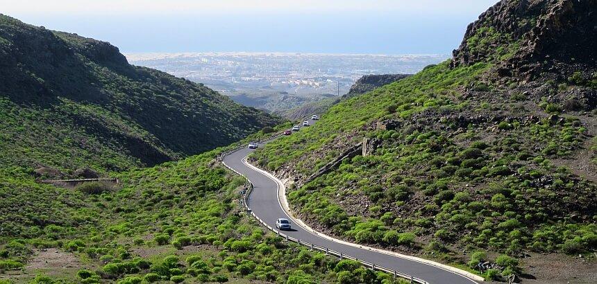 Gran Canaria Straßennetz