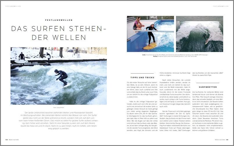 Stehende Wellen_Geschenke für Surfer_rahmen