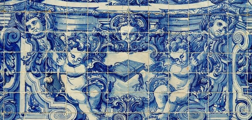 Portugal surfen- azulejos