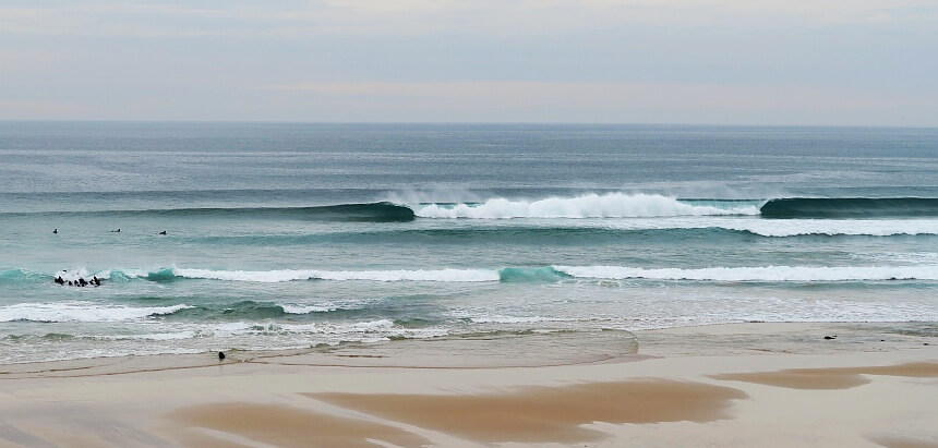 Portugal surfen- offshore