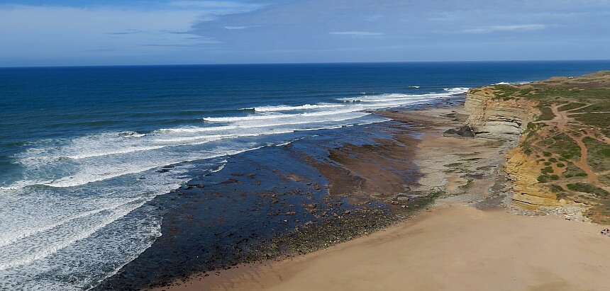 Ribeira D'Ilhas- Portugal surfen