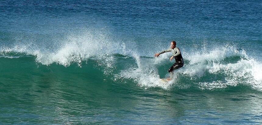 Shortboard surfen auf Fuerteventura