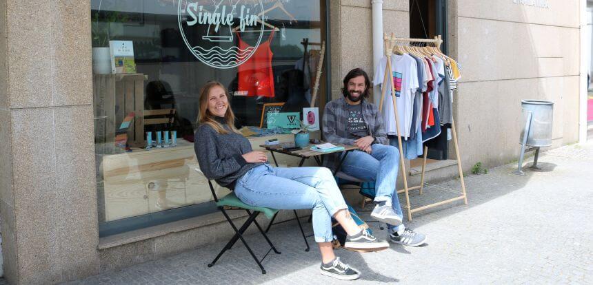 Single Fin Surf Shop in Esposende