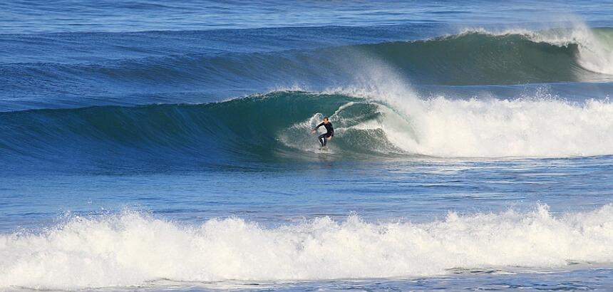 Surfen in Esmoriz in der Nähe von Porto