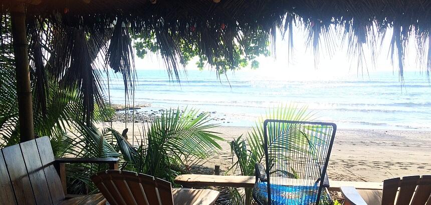 In Costa Rica surfen_Die Garten-Welle von Rancho Buricas