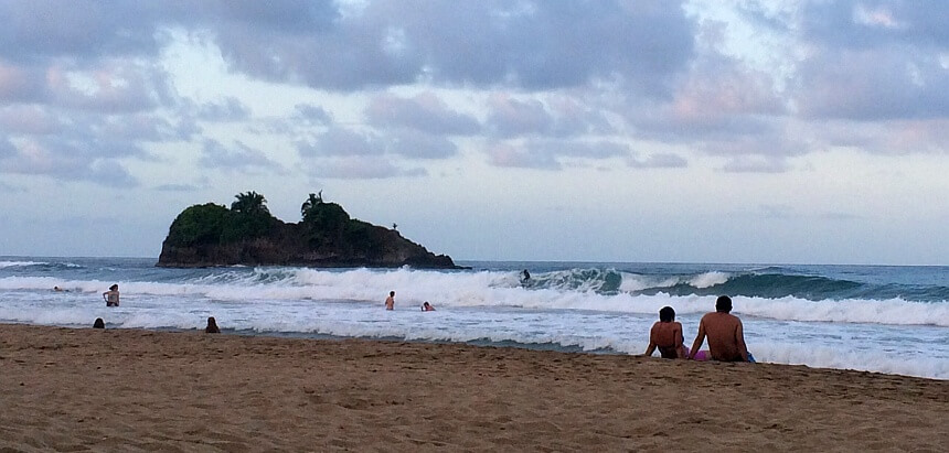 In Costa Rica surfen_Playa Cocles