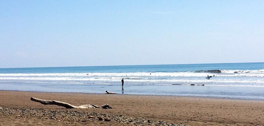 In Costa Rica surfen_Santa Teresa