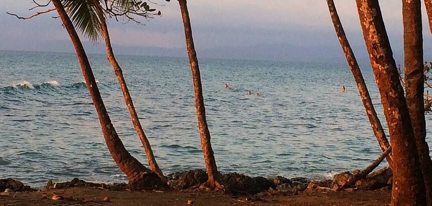 Surfen Costa Rica_Longboarder in Pavones