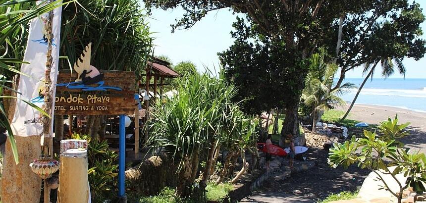 Surfunterkünfte auf Bali_Das Pondok Pitaya in Balian