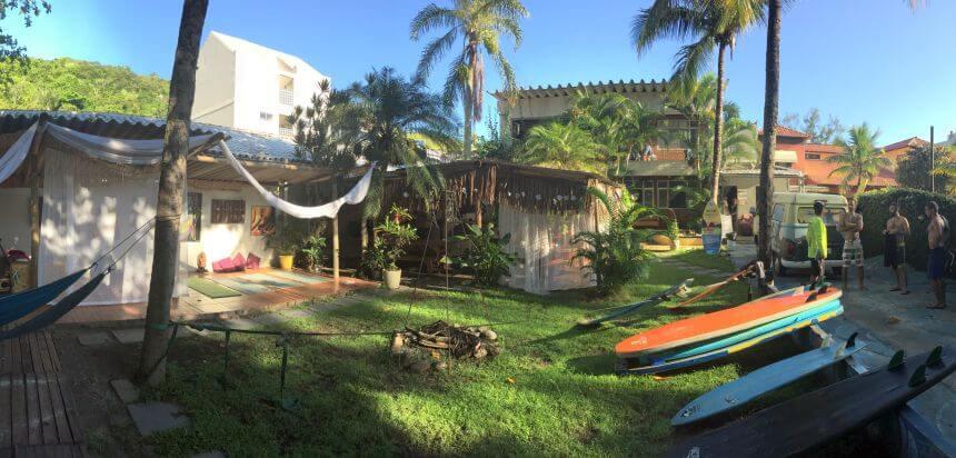 Rio Surfen_Das Rio SurfnStay