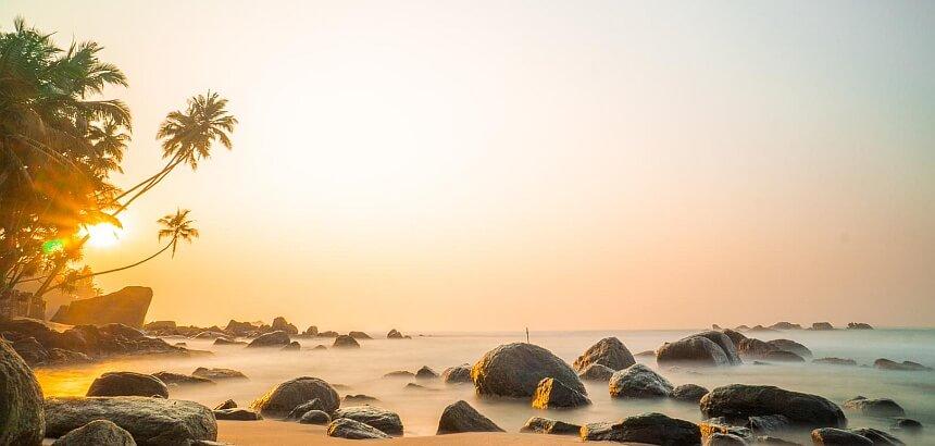 Sri Lanka surfen_Sonnenaufgang_Dalawella_Beach