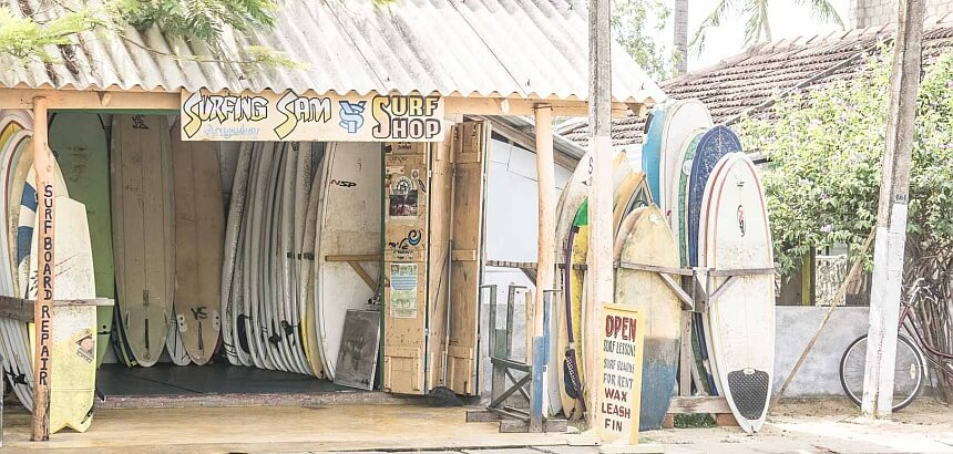 Sri Lanka surfen_Surfshop_Arugam_Bay