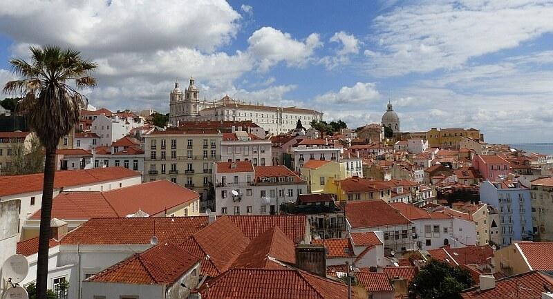 Lissabon im Herbst
