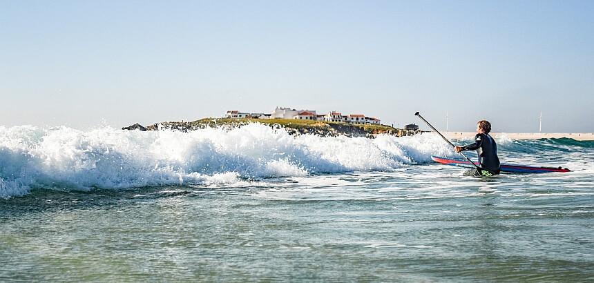 Stand Up Paddling_Wie komme ich durch die Wellen