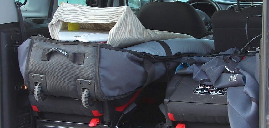 Double Boardbag mit Rollen Dakine World Traveler