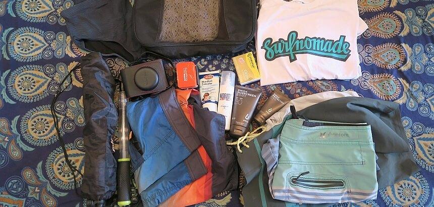 Packliste Surfurlaub