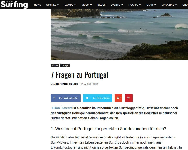 Surfnomade bei Prime Surfing
