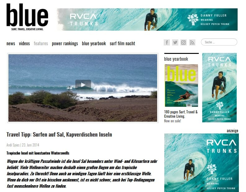 Surfnomade bei bluemag