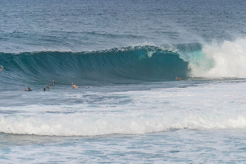 philippinen surfen cloud 9 barrel