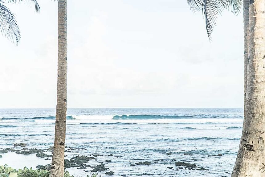 surfspot tuazon point philippinen surfen