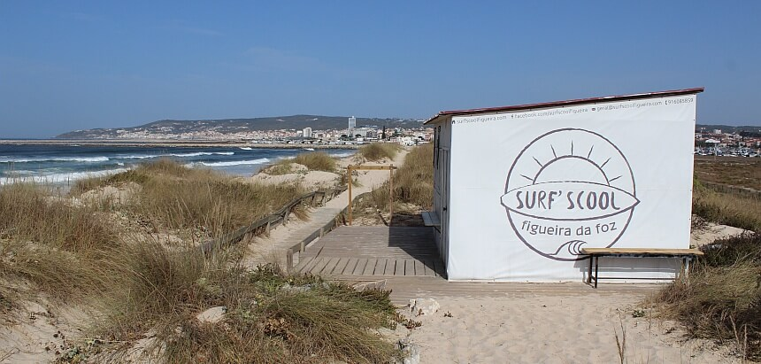 Surfschule in Portugal
