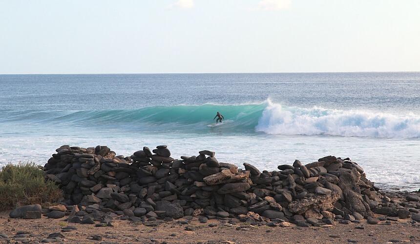 Fuerteventura surfen in Salinas