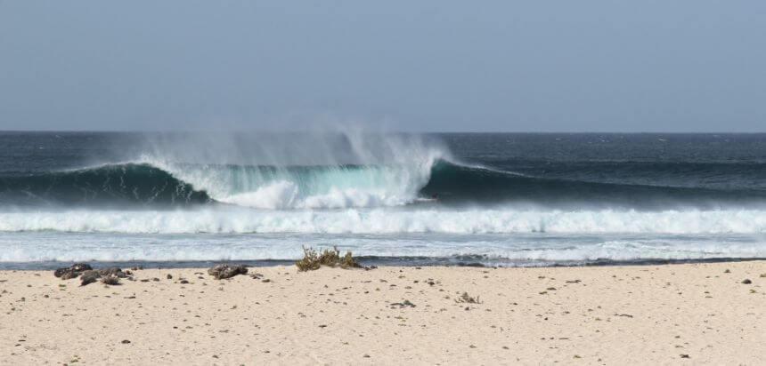 Fuerteventura surfen_Die North Shore ist eines der Highlights für Surfer in Europa