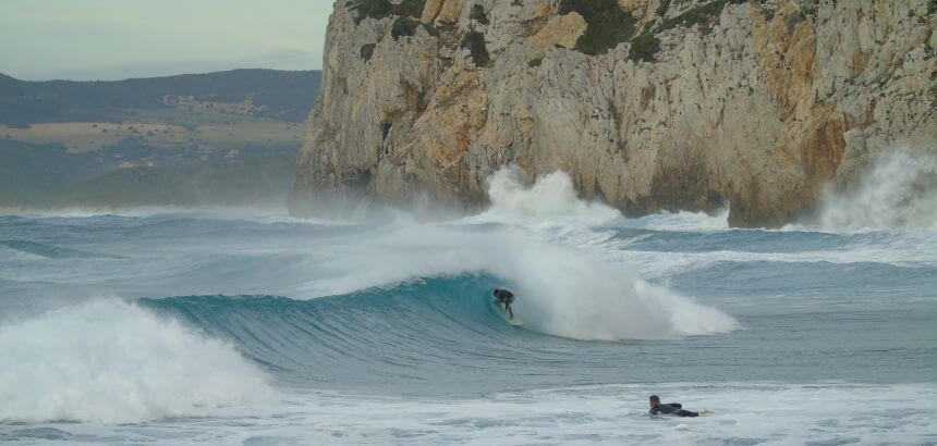 Auf Sardinien Surfen Dolce Vita Traumstrände