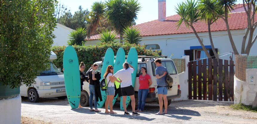 Das Surfcamp Algarve Mission To Surf Camphaus in Aljezur_Portugal