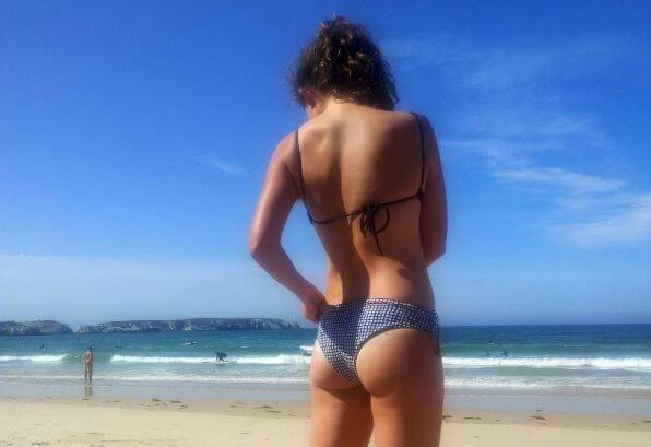 Surf Bikini Test_Salty Bird Surf Apparel Waimea Top & Jay Bay Bottom