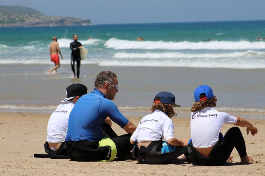 Surfcamp für Familie in Nordspanien_elementsurf