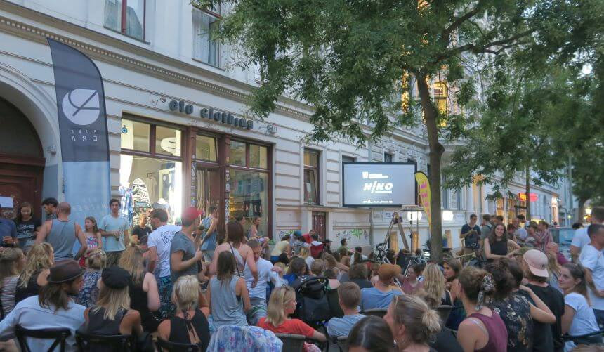 NNO Surf Film Festival Berlin am Ete Clothing Surf Shop