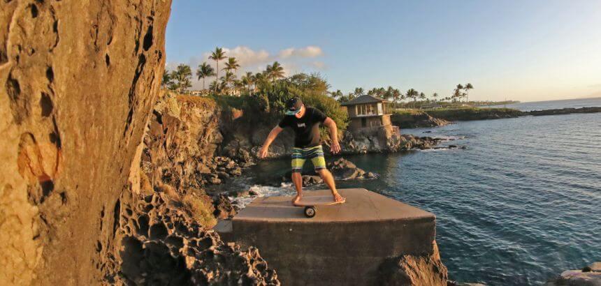 Balance Board für Surfer von Jucker Hawaii