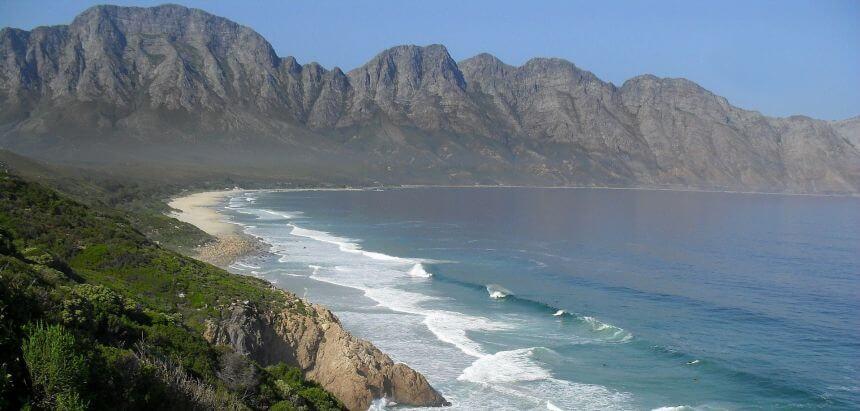 Beachbreak in Südafrika