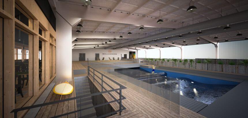 Indoor Surfen - Das Wellenwerk in Berlin eröffnet im Frühjahr 2019