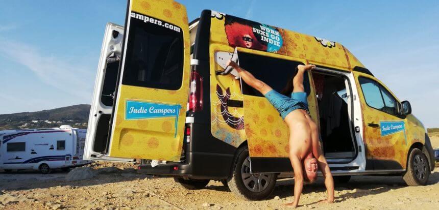Camper mieten Portugal mit Indie Campers