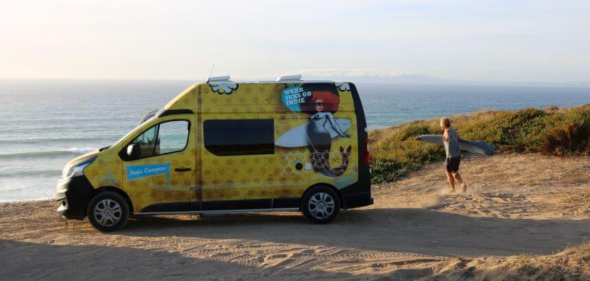 Camper mieten in Portugal _Indie Campers Review