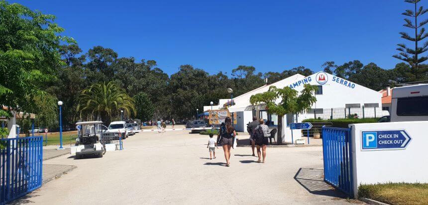 Camping Serrao bei Arrifana_Ein guter Campingplatz für Surfer