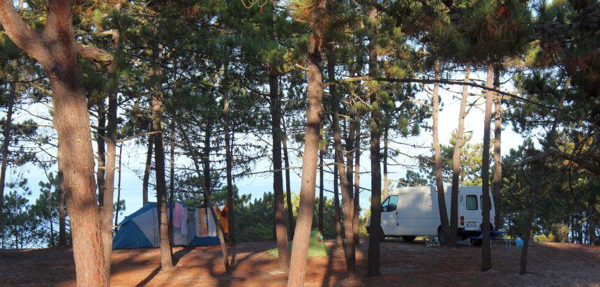 Campingplatz für Surfer_Camping Praia da Gale_Alentejo_Portugal
