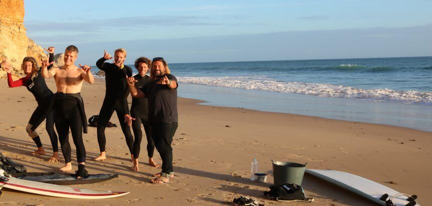 Das Advanced Surf Training mit Dean Gough in Portugal_1