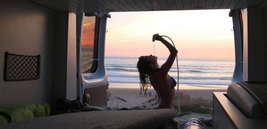 Indie Camper mit Dusche