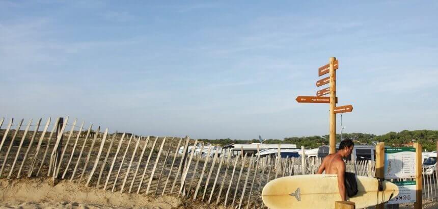 Plage des Océanides Stellplatz-für Campervans in Frankreich_ Capreton