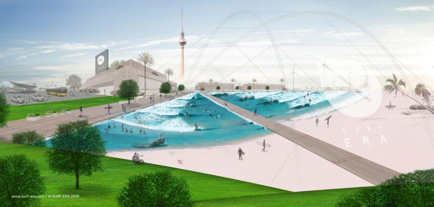 Surf Era Berlin - Der erste Wave Pool Deutschlands